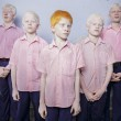 1st Prize People – Staged Portraits Single: A group of blind albino boys photographed in their boarding room at the Vivekananda mission school for the blind in West Bengal, India. This is one of the very few schools for the blind in India today © Brent Stirton, South Africa, Reportage by Getty Images